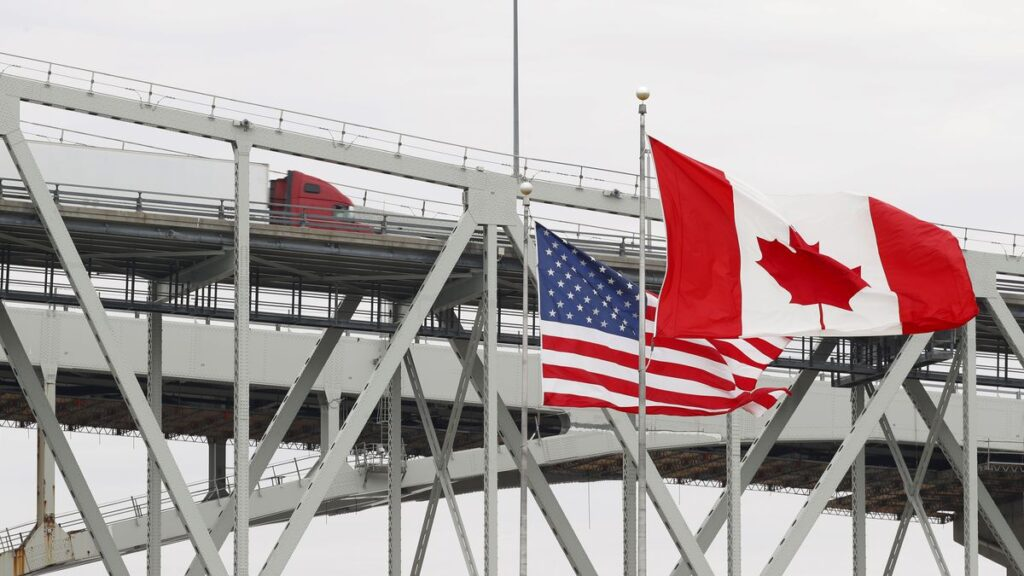 U.S. OFFICIALS WANT THE BORDER TO BE CLOSED FOR CANADIAN TOURISTS
